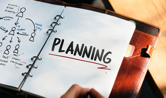 planning out how to get good return of investment