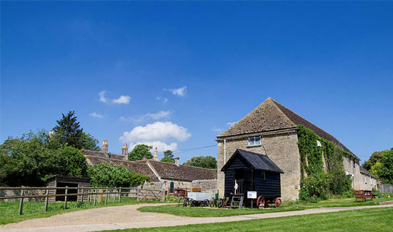 18th century watermill farm in Peterborough